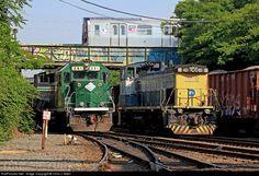 RailPictures.Net Photo: NYA 261 New York & Atlantic Railway EMD GP38-2 at Fresh Pond, New York by Chris J. Allen