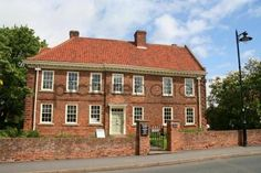Old rectory at Epworth in Lincolnshire birthplace of Charles and John Wesley