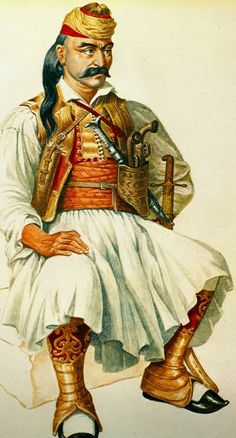 Greek Independence, Albanian Culture, Places In Greece, Greek Warrior, Greek Beauty, Buddha Sculpture, Buddha Painting, Greek History, Military History
