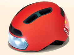 <p>With this commuting helmet, you never again have to worry about forgetting your lights</p>