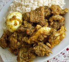 ofada sauce, Ofada Stew (Ayamase) , nigerian food tv