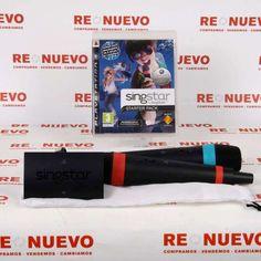 #Conjunto 2 micros + Juego #SINGSTAR para #PS3 E268846 de segunda mano | Tienda de Segunda Mano en Barcelona Re-Nuevo #segundamano