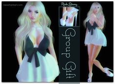 Sweet Rich Story Alicia Outfit. Second Life Group Gifts. The outfit I am wearing is one of the gifts. The shoes are included. You will find this gift ...