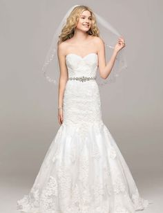 Wedding Dresses by David's Bridal | Confetti.co.uk | #weddingdress #bridalwear