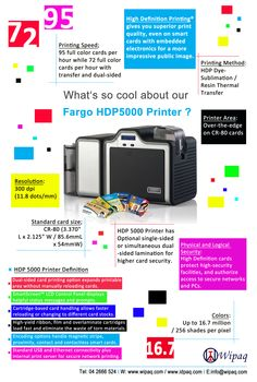 Print your Own ID Card with Excellent Clarity!! #Fargo ID Card Printer Infographics! #Fargo #id_card_printer #wipaqtrading #dubai #infographics