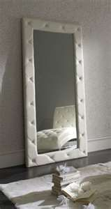 Stand up closet mirror-- also perfect at the end of a hallway(makes the house look bigger)