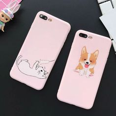 Cartoon Funny Cat Dog Frosted Soft TPU Phone Back Cover Case For iPhone 6 6S Plus Mobile Phone Bags & Cases Capa //Price: $8.95 & FREE Shipping //     #catshop