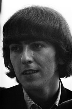George Harrison on June 30, 1965 in Nice, France.