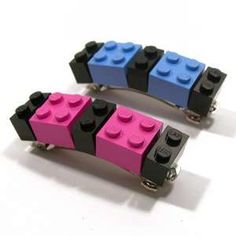 Lego Hair Clip      Great Way To Reuse Legos