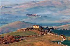 The hills of Pienza