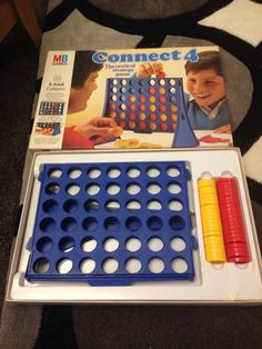 Original 1975 MB Connect 4 Four Vintage Retro Old 1970s traditional board game | eBay