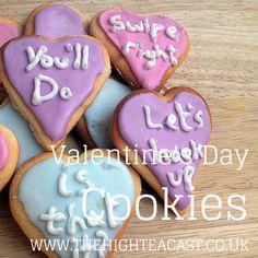 Super sarcastic Valentine's Cookies