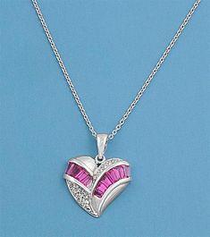 Silver CZ Necklace For Women @$15.43 #womenjewelry #necklace #jewelrydesign #jewelrysupplies