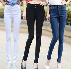 Check out 2016 new arrivals... today! http://www.digdu.com/products/2016-new-arrivals-white-high-waist-women-jeans-female-trousers-korean-slim-pencil-pants-stretch-pants-denim-pants-trousers?utm_campaign=social_autopilot&utm_source=pin&utm_medium=pin