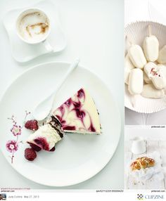White Food Styling