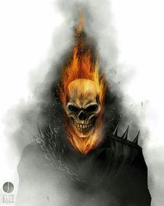 "3 ""El Heroe Y El Vengador"" from the story Izuku Midoriya El Nuevo Ghost Rider by SpartanIzuku with reads. Johnny: DIJE L. Comic Book Characters, Comic Character, Comic Books Art, Comic Art, Marvel Comics Art, Bd Comics, Marvel Heroes, Captain Marvel, Ghost Rider Johnny Blaze"