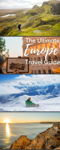 The Ultimate travel guide to Europe. Including places to visit in Europe, backpacking tips, bucket list items, packing and fashion tips, and things to do in Europe on a budget with go to destinations and cities. Including Spain, Portugal, London, France, Scotland, Germany, Holland, Croatia, Italy, Greece, Scandinavia, Austria, Switzerland, and the Balkans. #FamilyFashionTips #budgettraveleurope #backpackingtipseurope #germanytravel #greecetravel #packingtips