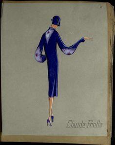 CLAUDE FROLLO Paris ETE 1929 © Patrimoine Lanvin. #Lanvin125
