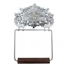 #Antique Toilet Paper #Holder #Chrome Princess Crown Tissue # 17529 Shop --> http://www.rensup.com/Toilet-Paper-Holder/Toilet-Paper-Holder-Chrome-Princess-Crown-Tissue-Holder/pd/17529.htm?CFID=1385051&CFTOKEN=2c12e8122fdbaf46-B9EB2768-CFE6-D385-D1A2993B8CAE7FAF