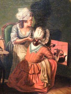 Isis' Wardrobe: Working women in late 18th century Sweden