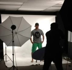 Philadelphia Flyers Superstar Claude Giroux in our office for a photoshoot... by Gongshowgear, via Flickr