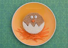 Healthy Easter Food - 6 Fun Kids Sandwich Ideas - Eats Amazing