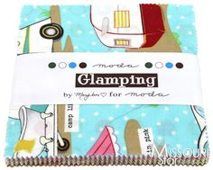 """an idea for the """"girls' rm at the cottage!    Glamping Charm Pack from Missouri Star Quilt Co"""
