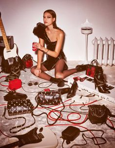 anais mali and zuzu tadeushuk by giampaolo sgura for vogue paris december / january 15.16 | visual optimism; fashion editorials, shows, campaigns & more!