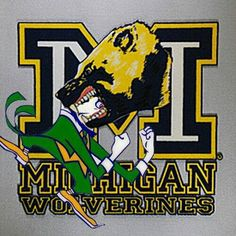 michiganMichigan Wolverines logo Great Ideas! More Pins Like This At FOSTERGINGER @ Pinterest