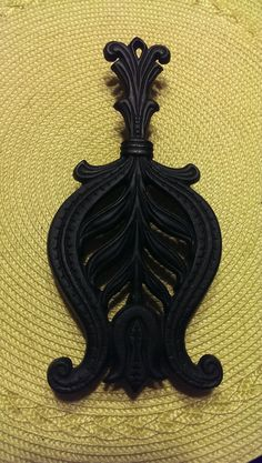 1950's Cast Iron Trivet by HauteHodgepodge on Etsy