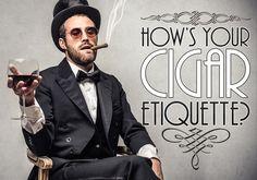How's Your Cigar Etiquette? #Cigar101 Read Now: http://www.famous-smoke.com/cigaradvisor/cigar-etiquette/