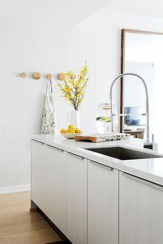 the modern kitchen.