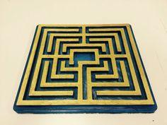 Labirinto gonzaghesco 3D peinting.