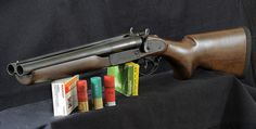 "Dominion Arms ""Outlaw"" double-barrel shotgun"