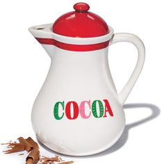 Hot Cocoa Carafe