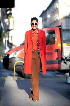 Milan Fashion Week - Street Style Fall 2012 - Harper's BAZAAR