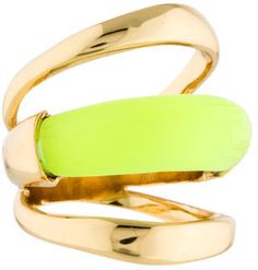 Yellow Ring! #alexisbittar #ring #yellow