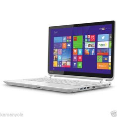 NEW-Toshiba-Satellite-15-6-L55T-B5258W-Touch-SCRN-Laptop-i5-2-7GHz-16GB-750GB