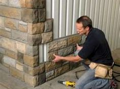 faux stone for shed - Google Search