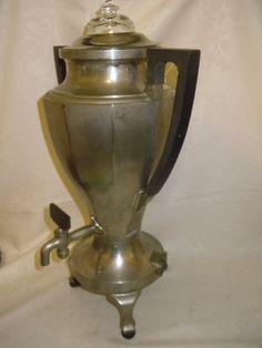 Antique Universal Coffee Maker Pot Urn by TheShastaLakeShop
