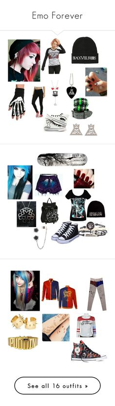 """""""Emo Forever"""" by alexemoforever ❤ liked on Polyvore featuring OPI, Converse, M. Cohen, Topshop, Masquerade, men's fashion, menswear, FUNimation, M.i.h Jeans and Chicas Fashion"""