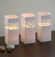 Candelabros de papel decorativos | Ideas para Decoracion