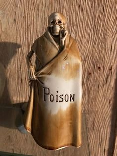 RARE ANTIQUE SCHAFER AND VATER GRIM REAPER SKULL POISON DECANTER- PRISTINE | Pottery & Glass, Pottery & China, Art Pottery | eBay!