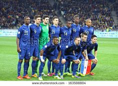 KYIV, UKRAINE - NOVEMBER 15: France national football team pose for a group photo before FIFA World Cup 2014 qualifier game against Ukraine ...