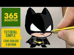 COMO DIBUJAR BATMAN KAWAII PASO A PASO - Kawaii facil - How to draw Batman - YouTube