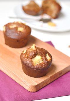 Muffins vegan et sans gluten aux poires - http://www.sweetandsour.fr // Sweet & Sour | Healthy & Happy Living
