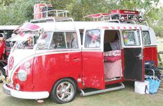 Now this is a VW Bus camper!