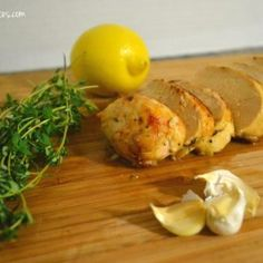 Garlic, Lemon & Thyme Roasted Chicken Breasts