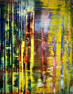 Gerhard Richter. Abstract Painting 780-1, 1992, oil on canvas.