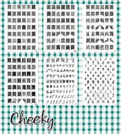 2012 New Collection of Jumbo Nail Art Image Plates. Bundle of 6 Nail Art Jumbo Image Plates (X1) with 331 Nail Art Designs At a Killer Price, By Cheeky. Cheeky,http://www.amazon.com/dp/B006OMHUZQ/ref=cm_sw_r_pi_dp_9Byxsb05YQK9N05M